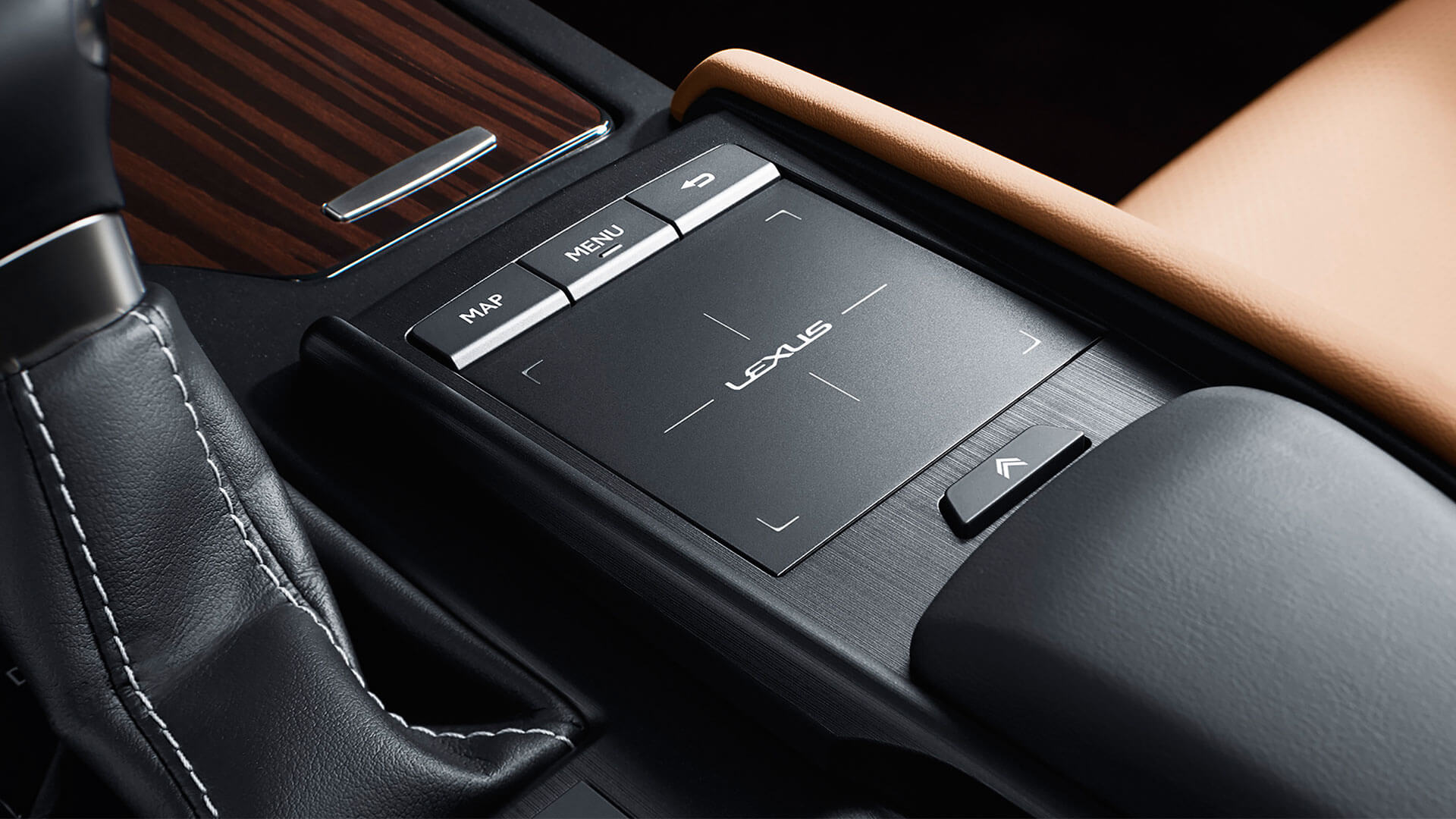 2019 lexus es 250 experience feature touch pad