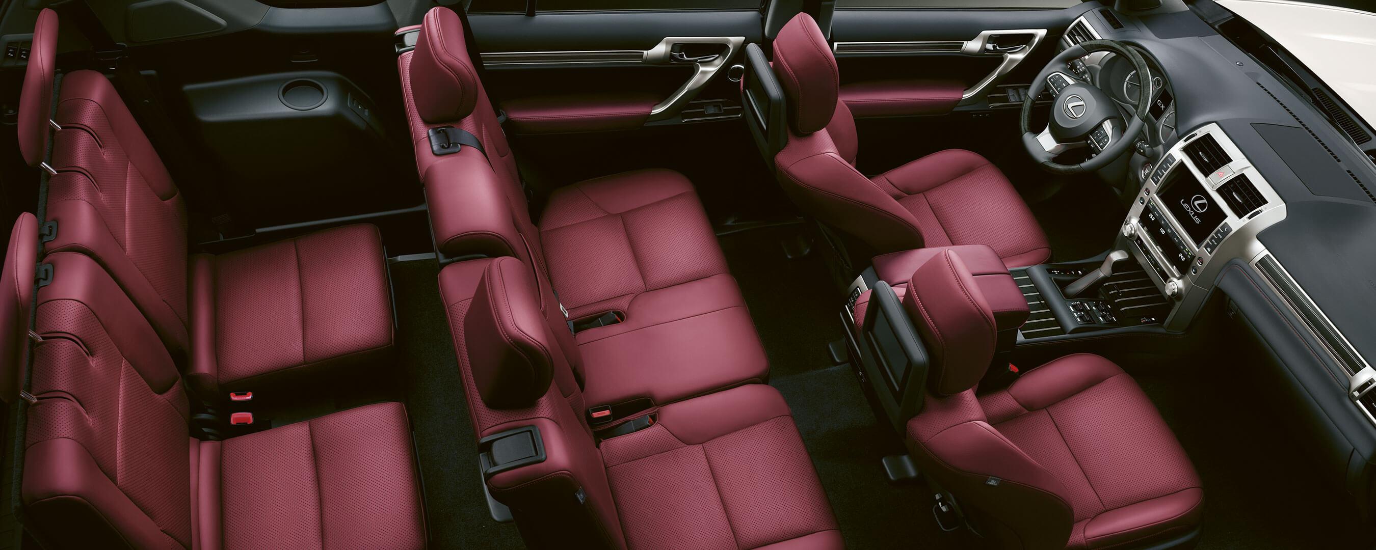 2019 lexus gx experience interior rear