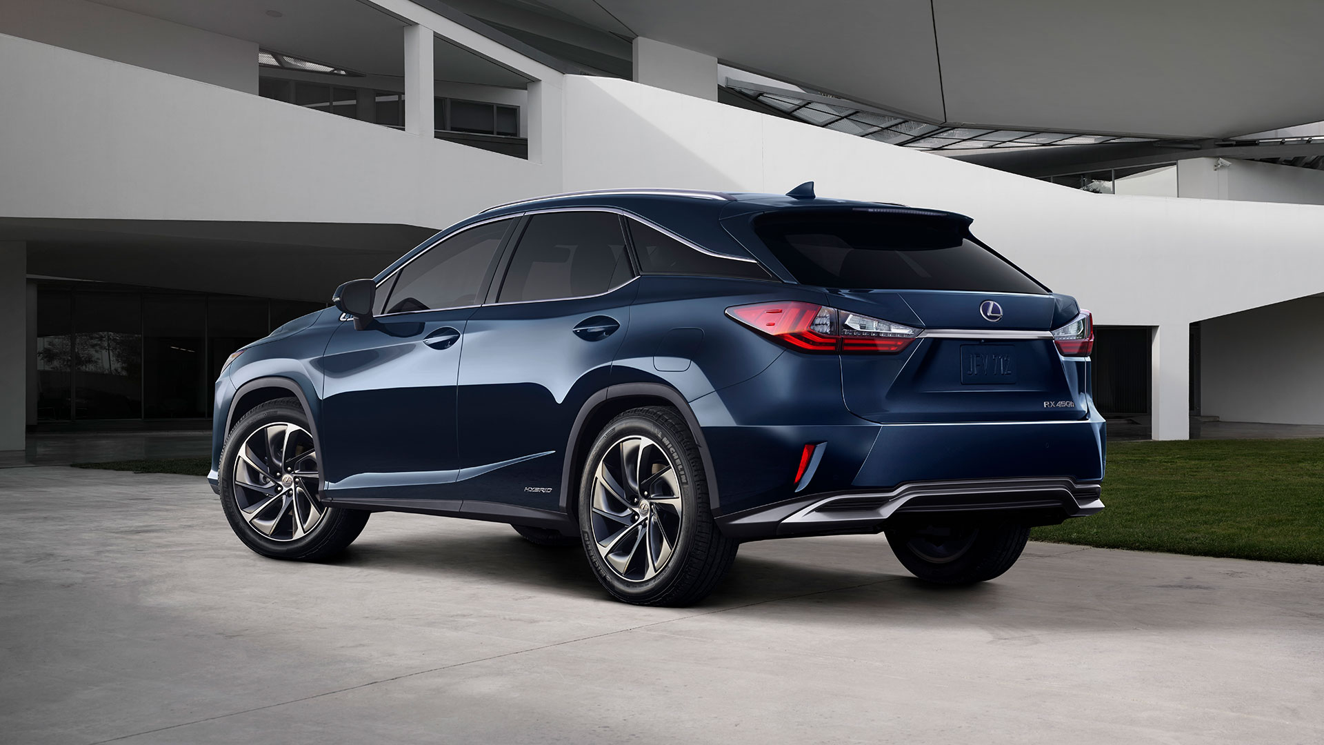 2017 lexus rx 450h next steps personalise