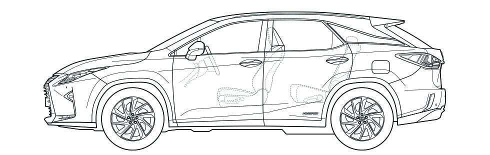 RX Side Dimensions