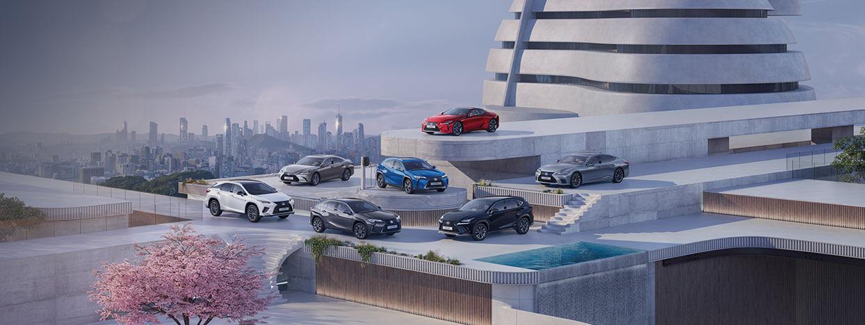 Build Your Lexus Electrified Car image v2