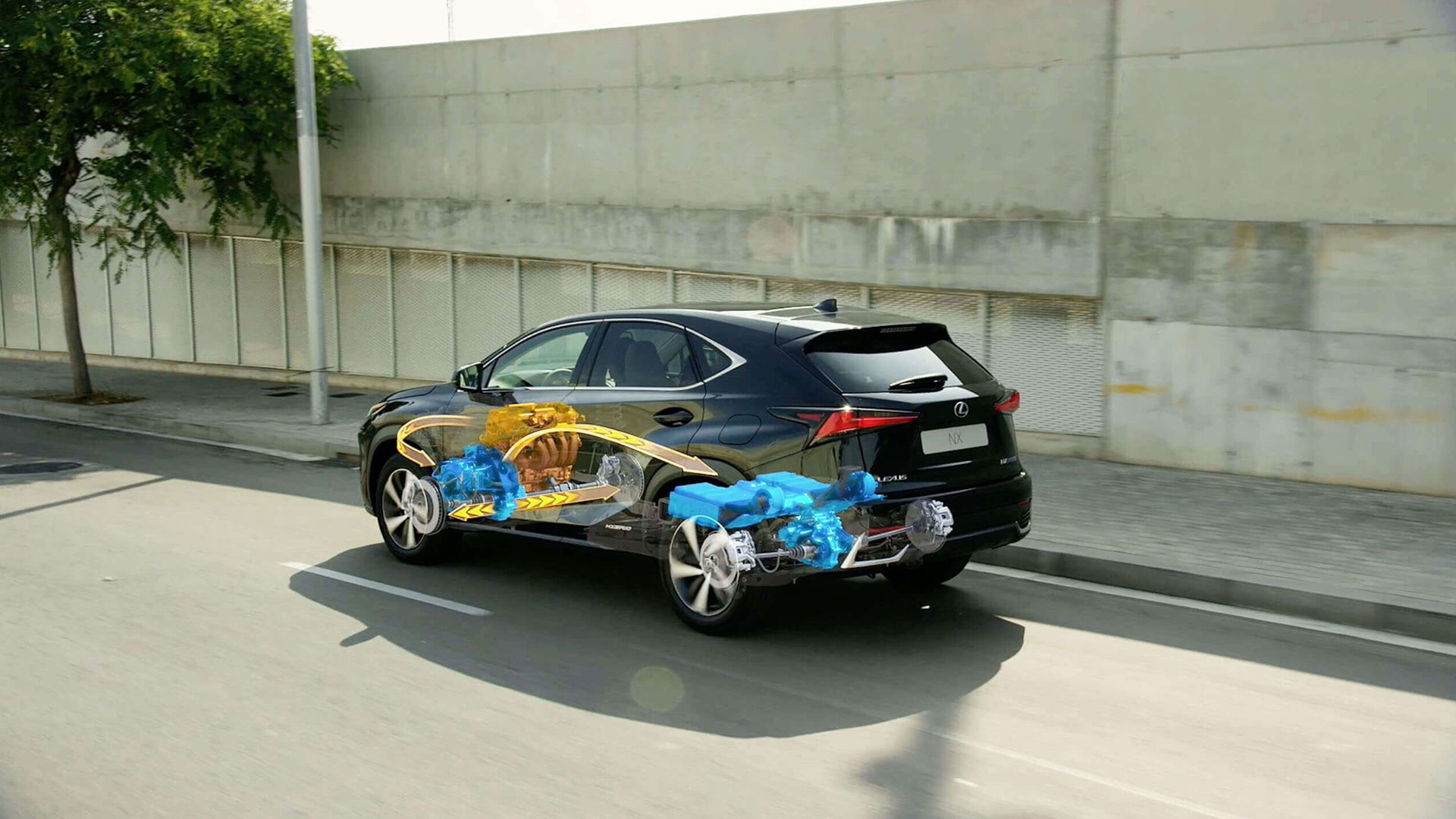 6 Lexus self charging hybrid image