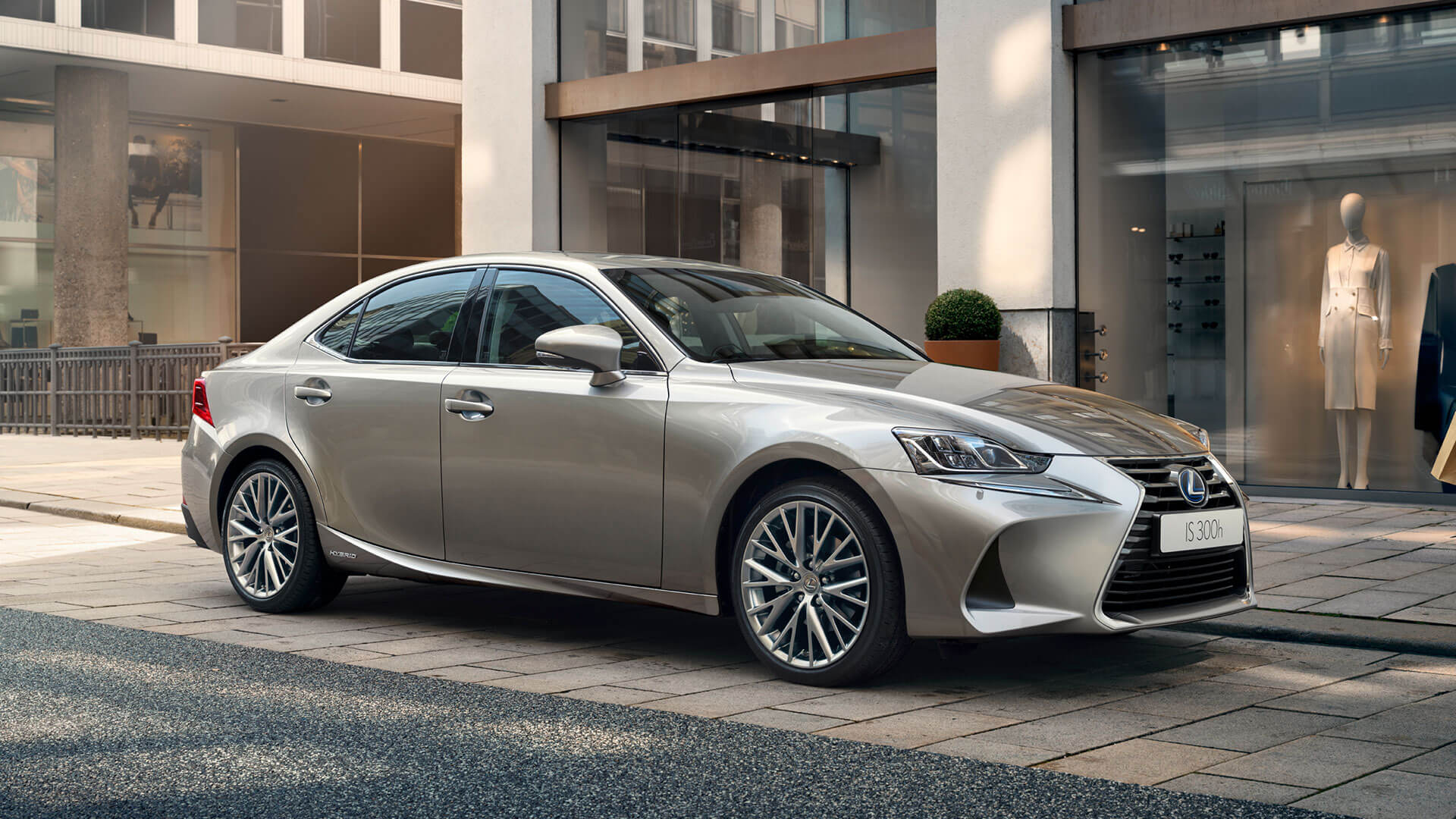 2017 lexus is 300h next steps personlise
