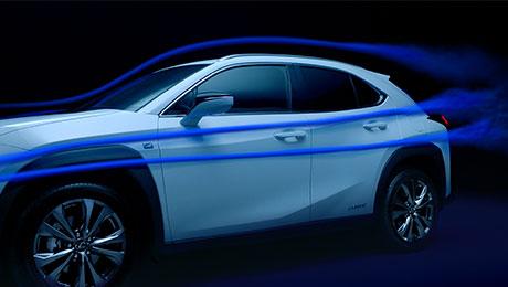 2018 lexus ux interactive design aerodynamic innovations thumb