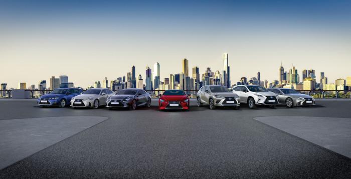 Lexus Hybrid Range EU hero