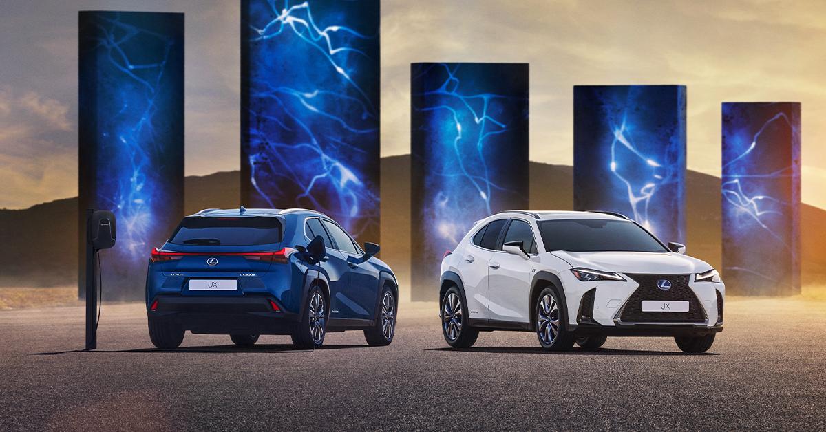 Lexus UX EV Range