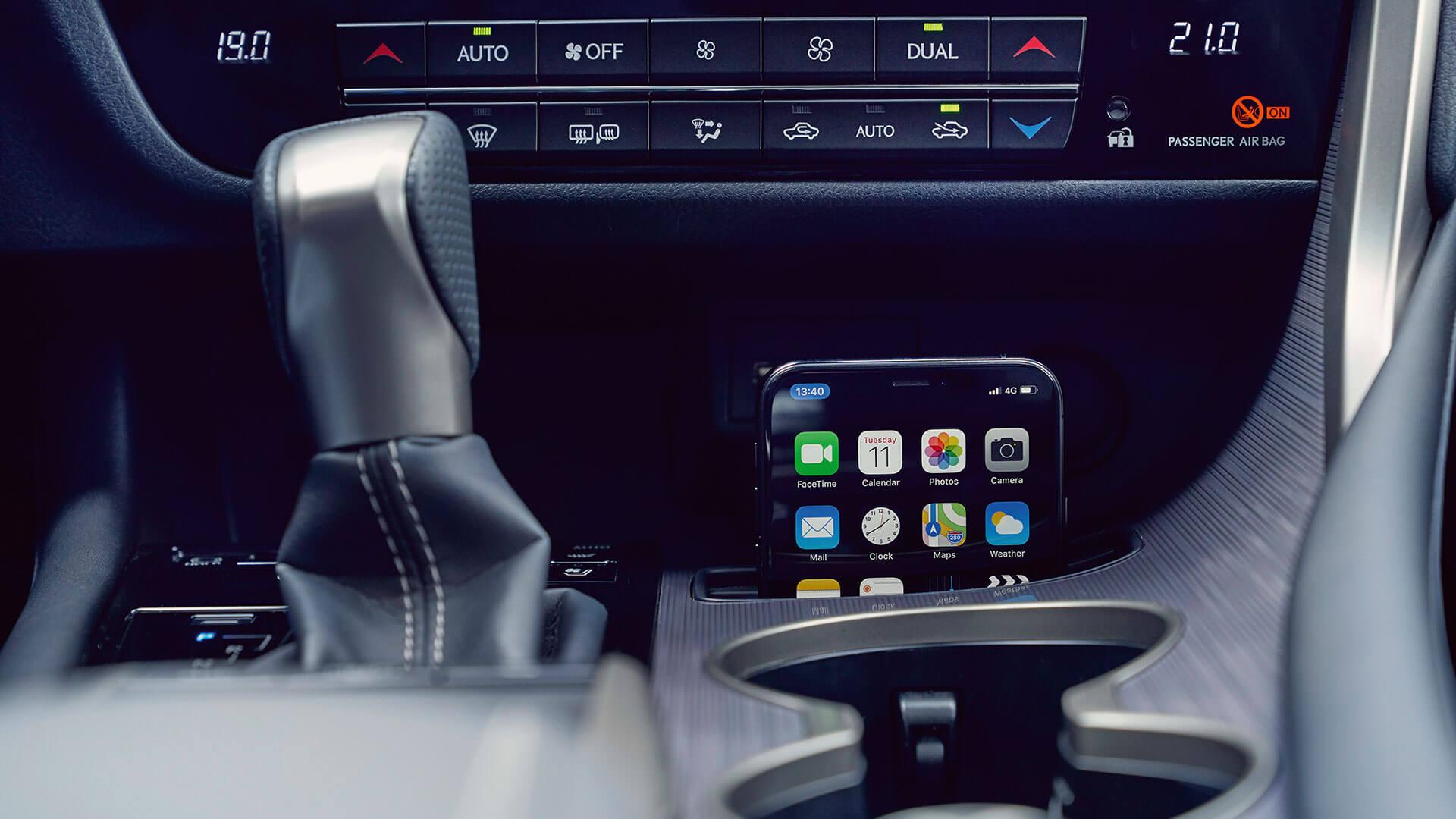 2019 lexus rxl hotspot smartphone integration