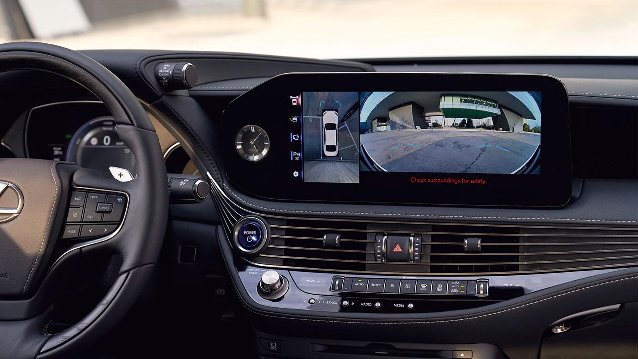 2020 lexus ls experience digital panoramic view monitor