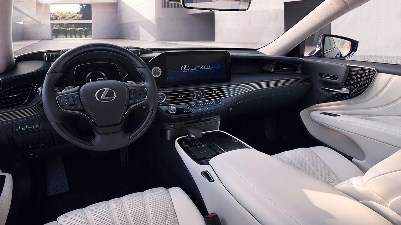 2020 lexus ls experience driver focused cockpit