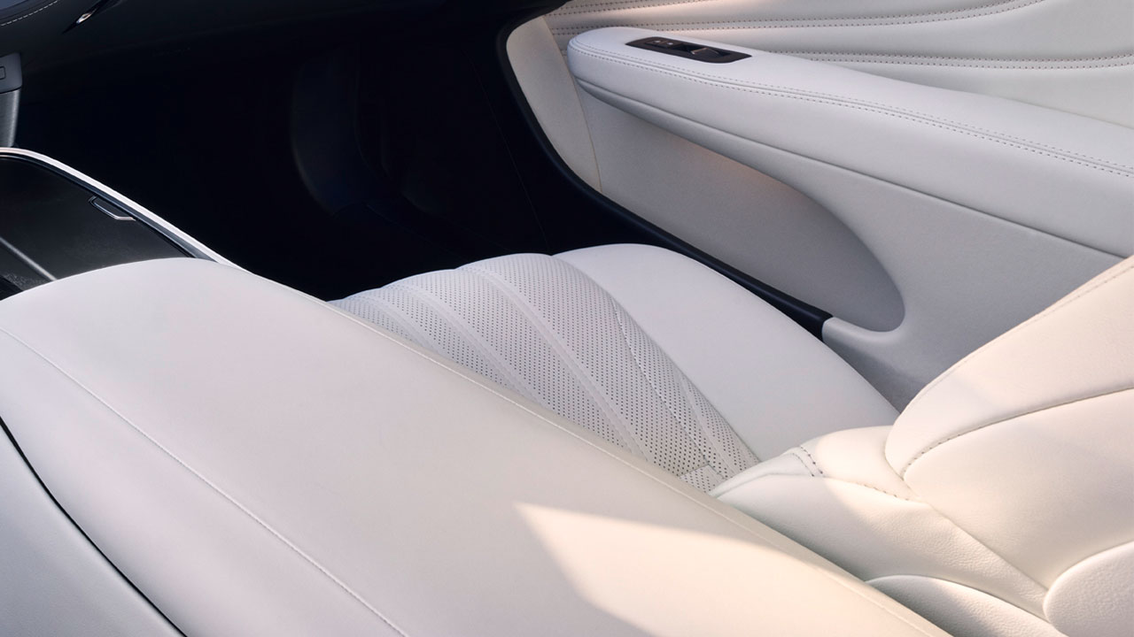 2020 lexus ls experience leather seats