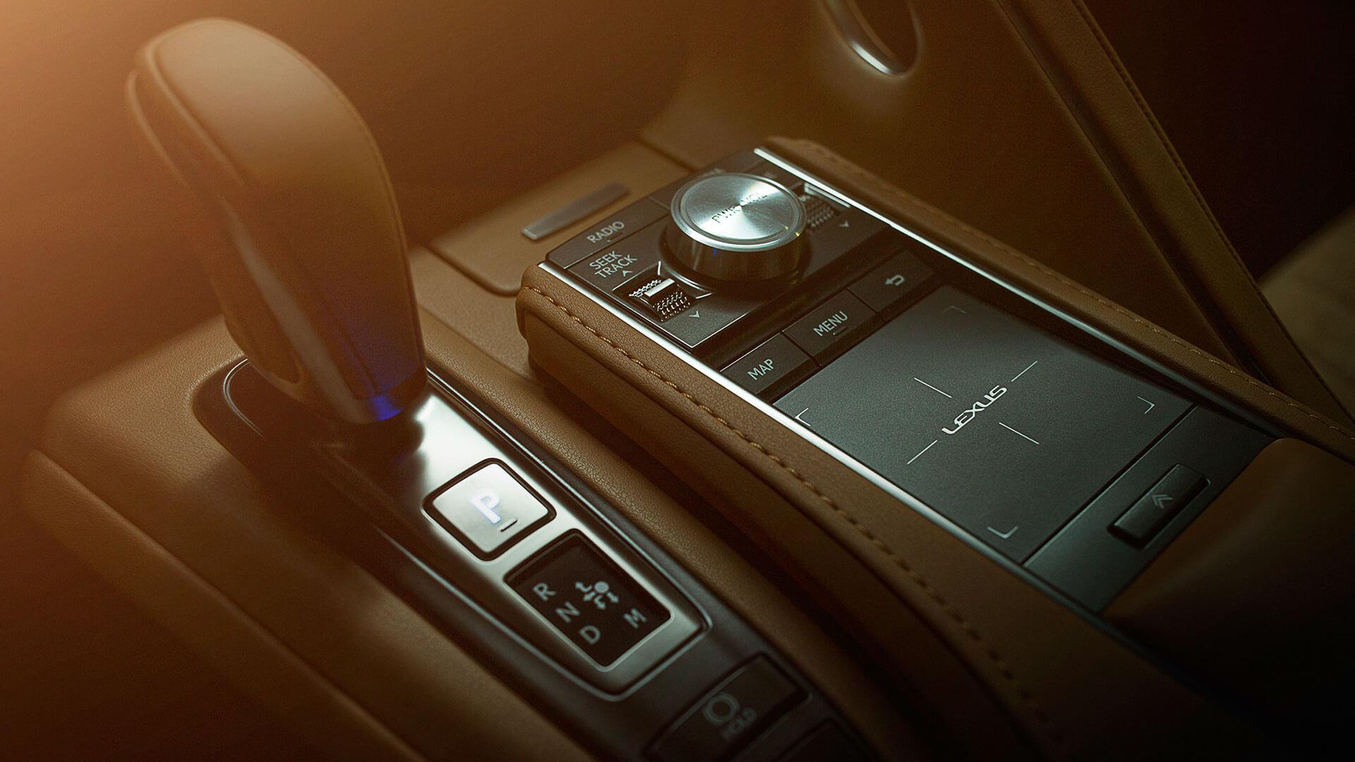Lexus LC Interior Touchpad