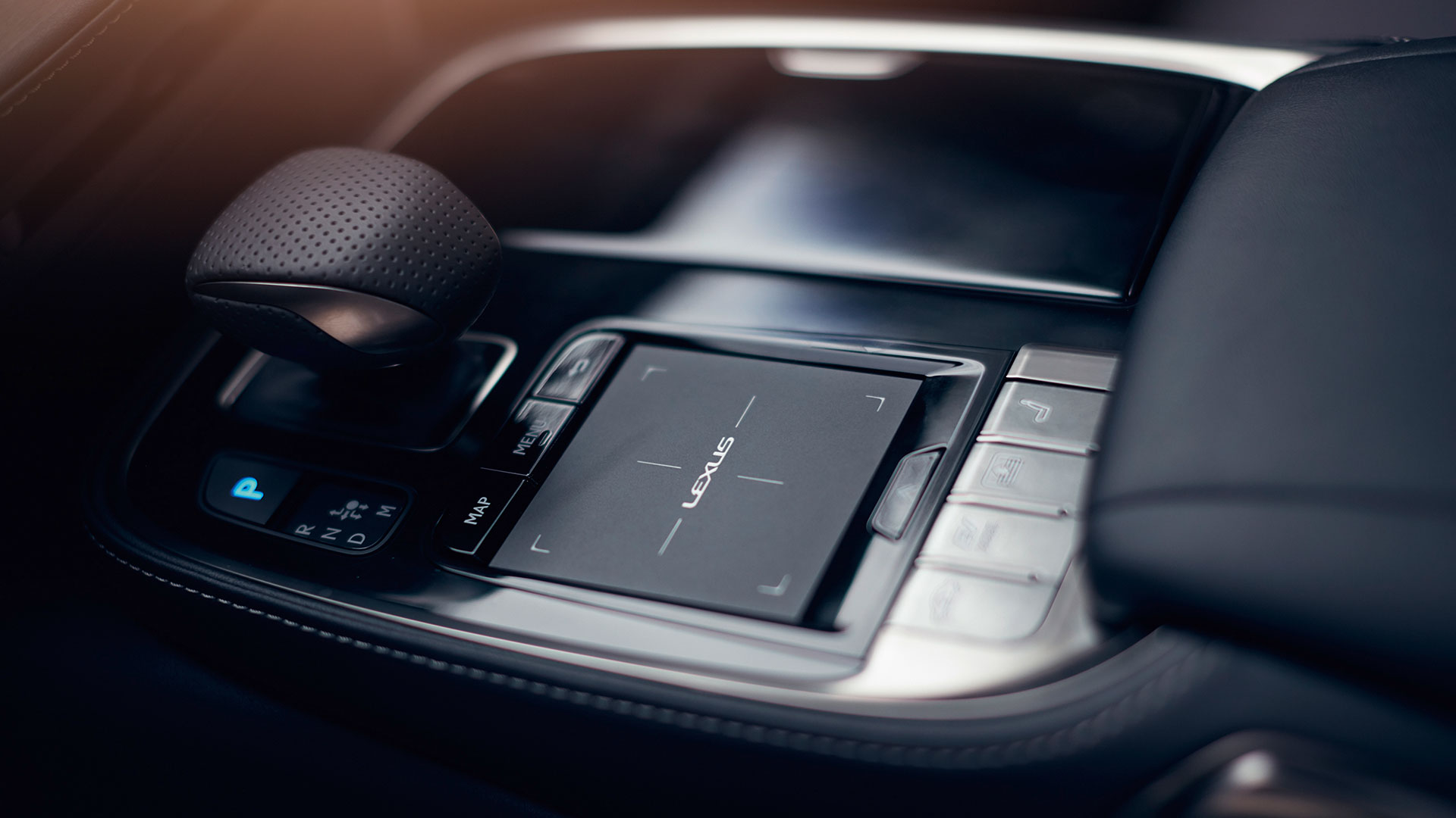 Lexus LS Interior Touchpad