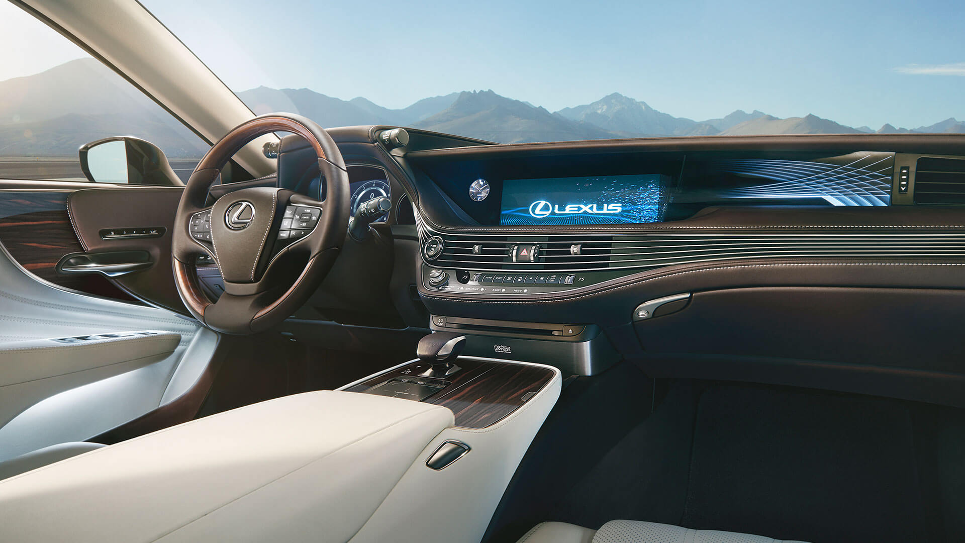 Lexus LS Interior Lenkrad Boardcomputer