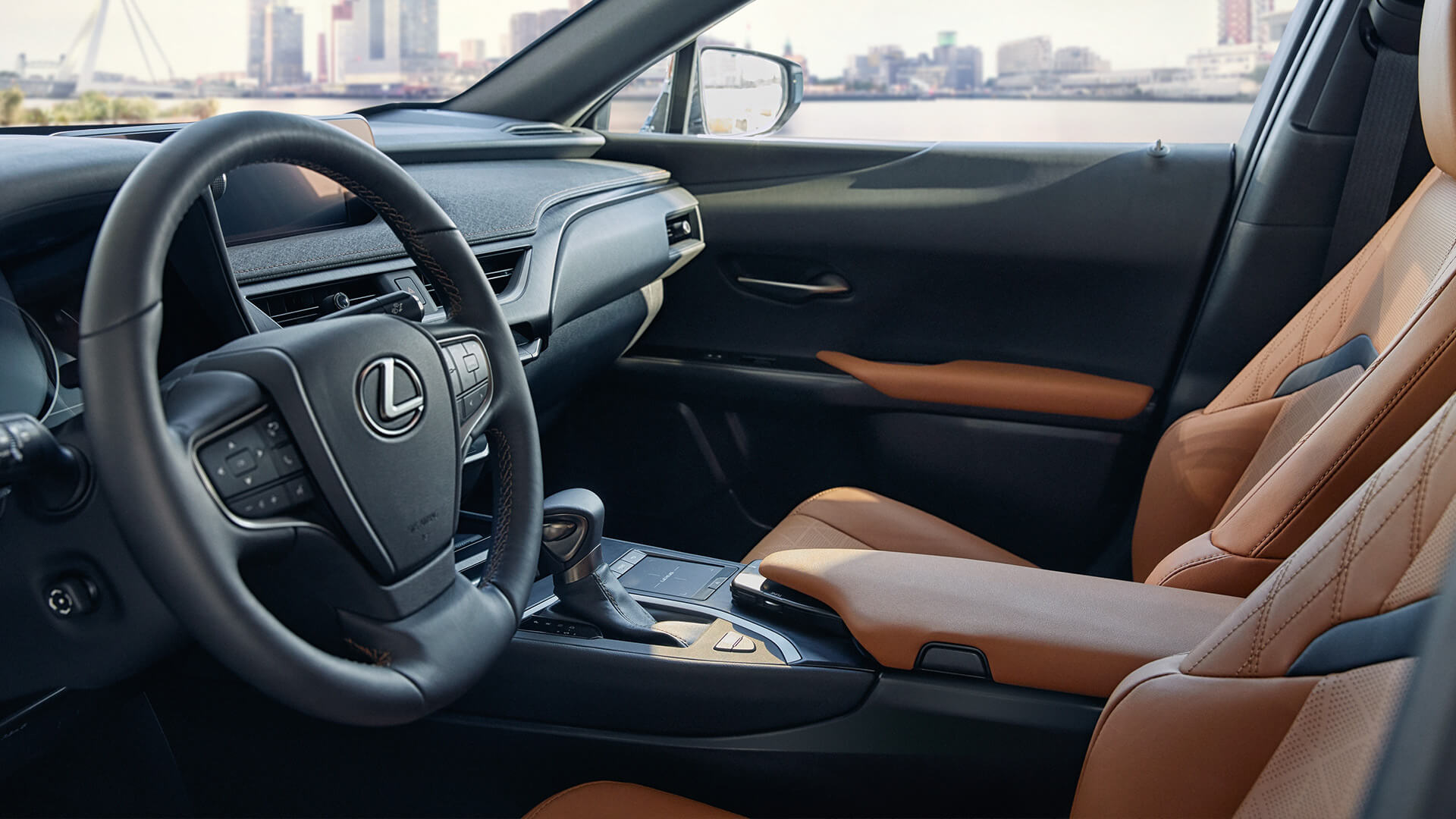 Lexus Hybrid Interior Lenkrad