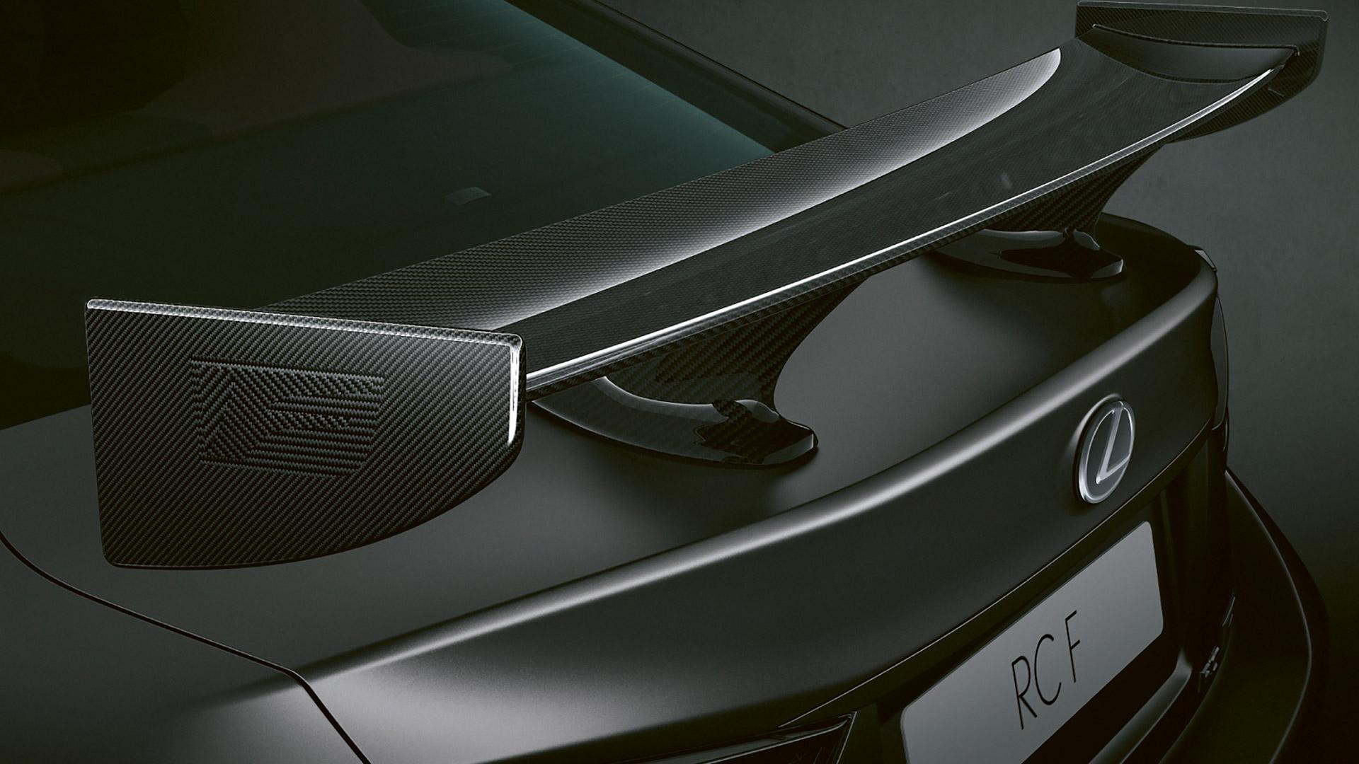 Lexus RC F heck