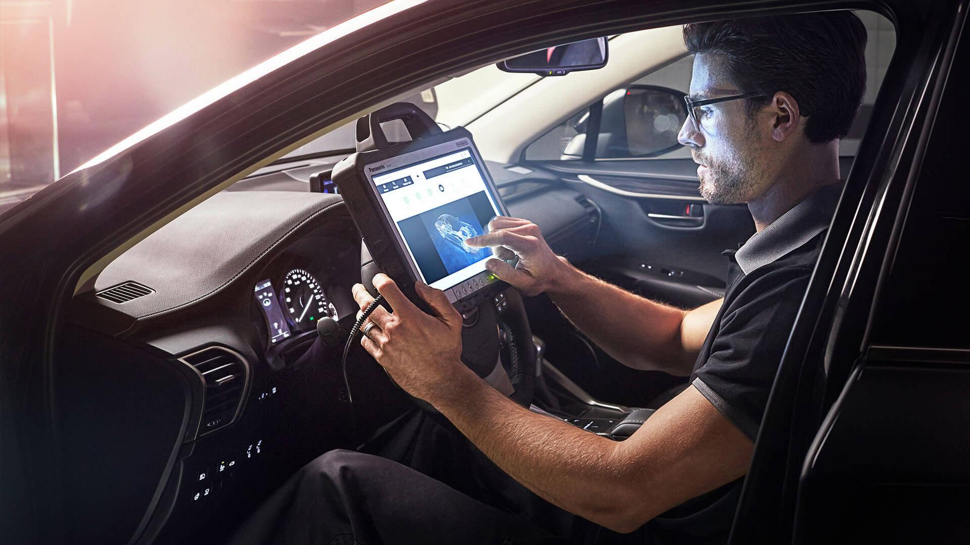 Lexus Hybrid Service Check