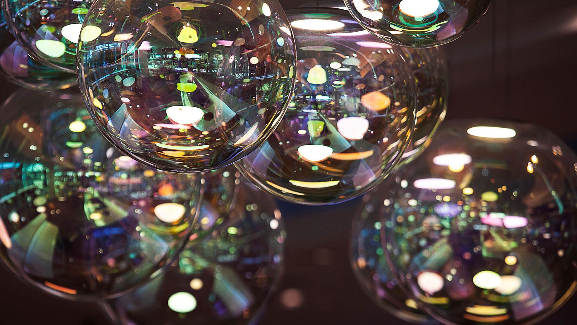 Iris Lampen im Loft by Lexus
