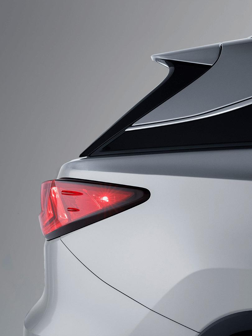 Lexus RX 450h Hybrid 2019 Heckansicht