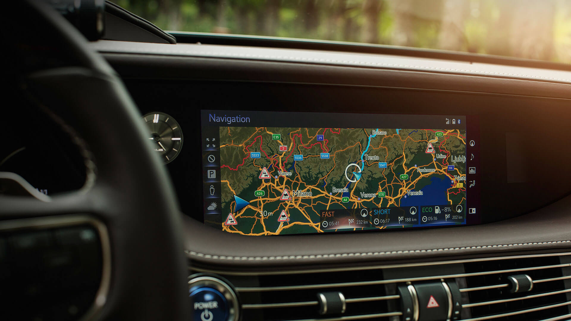 2018 lexus ls features 12 3 lexus premium navigation