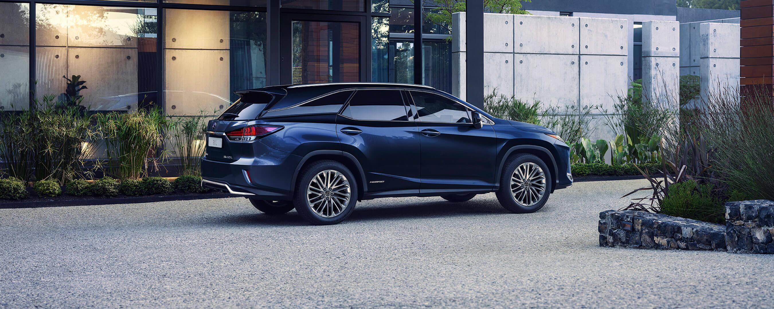 2021 lexus rx l experience hero exterior rear