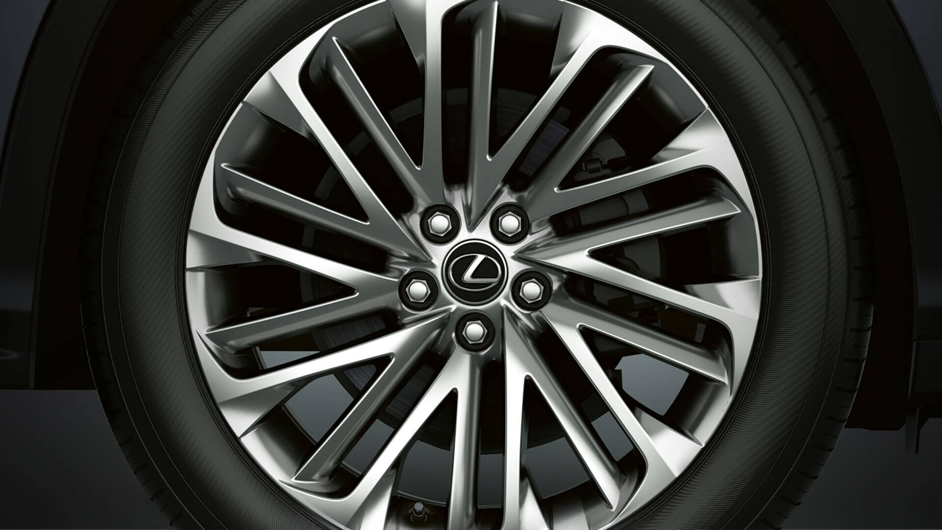 2019 lexus rxl hotspot 20 inch alloy wheels