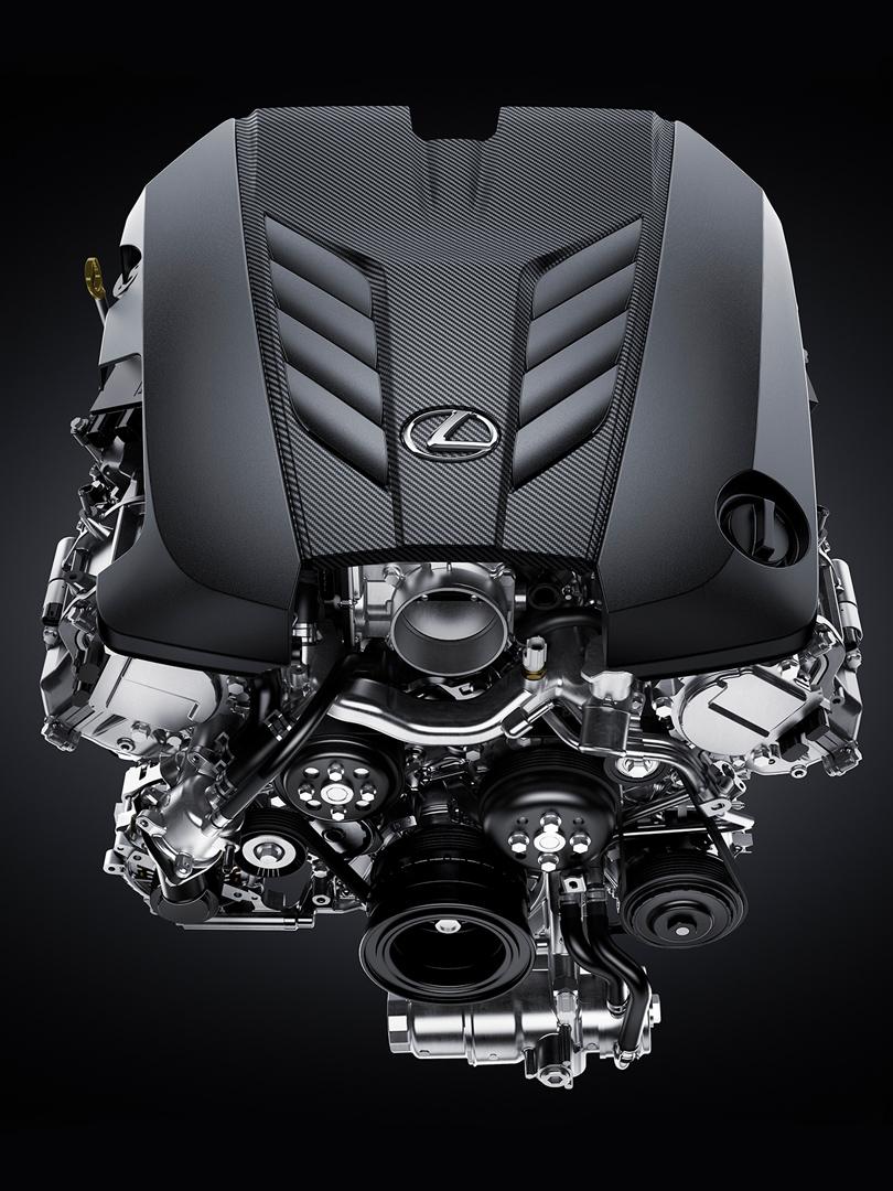 LC 500 Cabrio motor