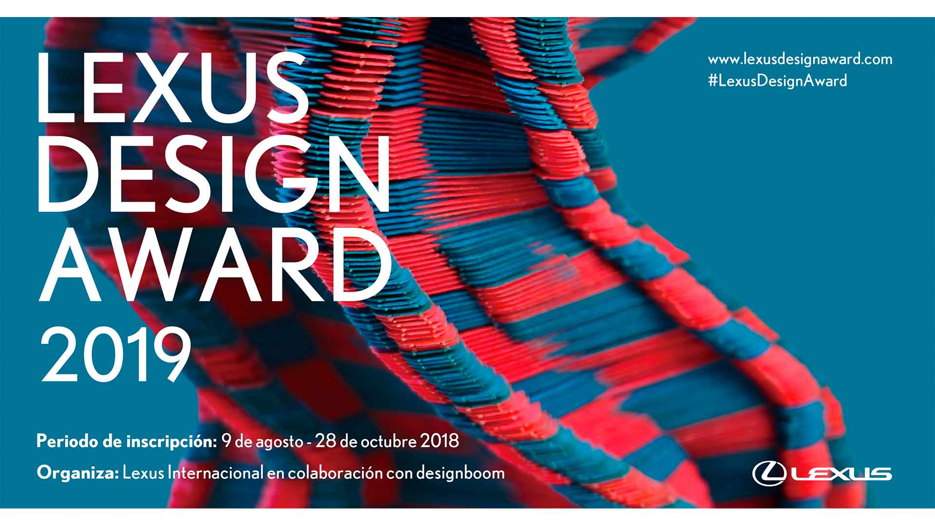 LEXUS DESIGN AWARD 2019 hero asset