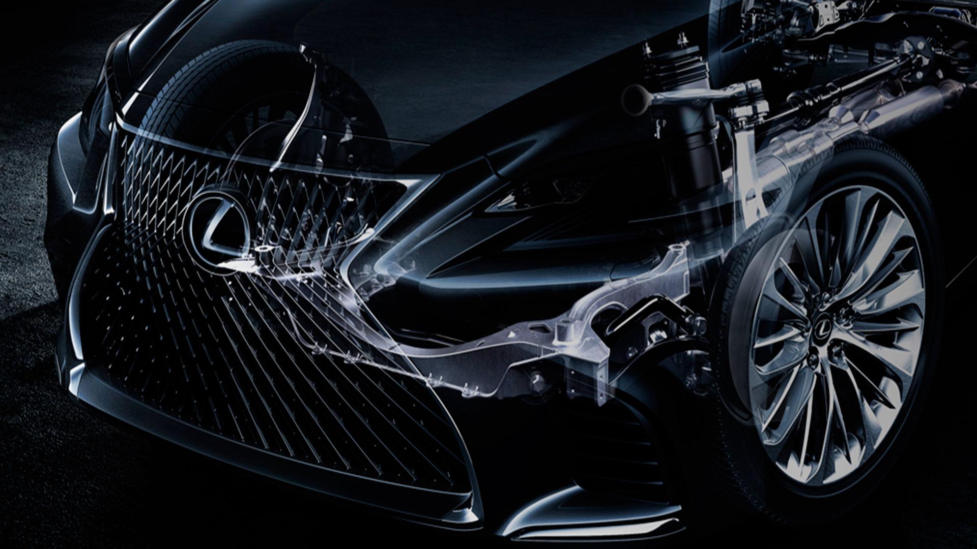 Lexus lanza un nuevo diseño de exhibición hero asset