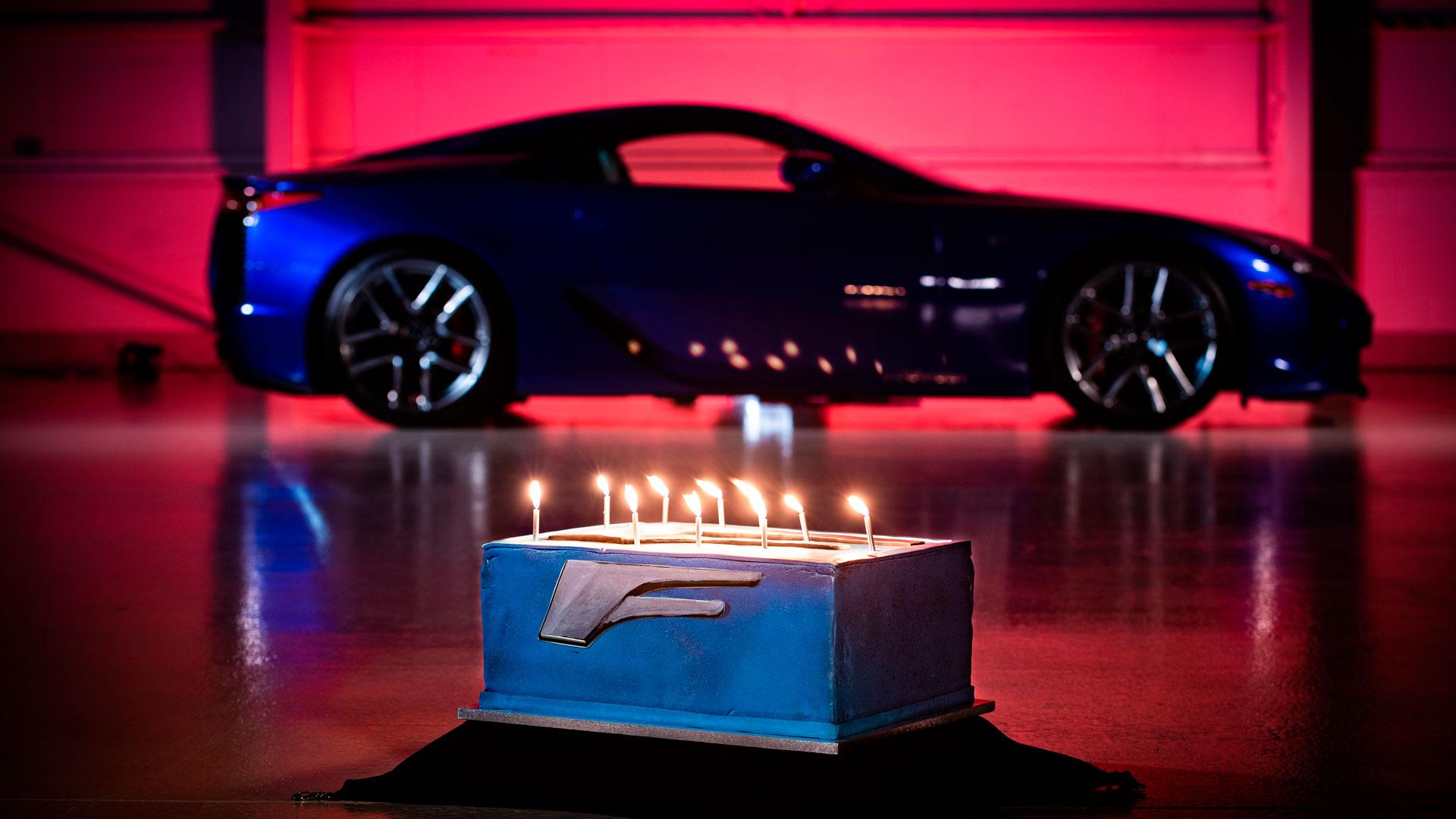 Imagen del Lexus LFA