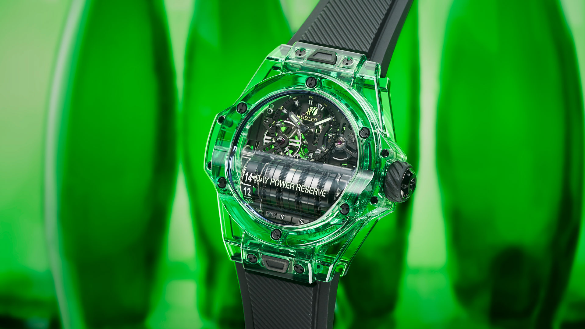 Imagen del reloj Big Bang MP 11 de Hublot