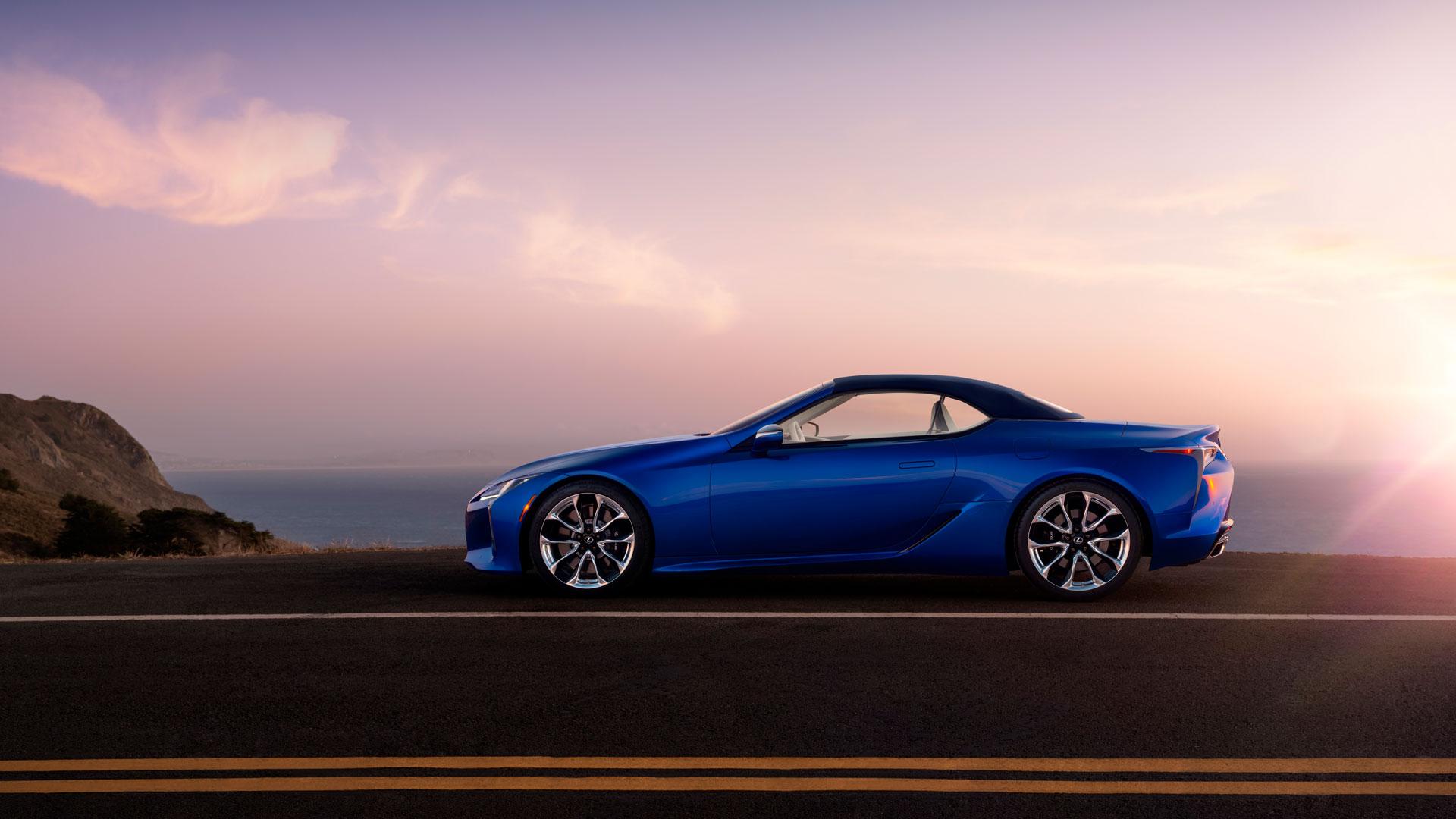 Lexus LC Cabrio la capota perfecta hero asset