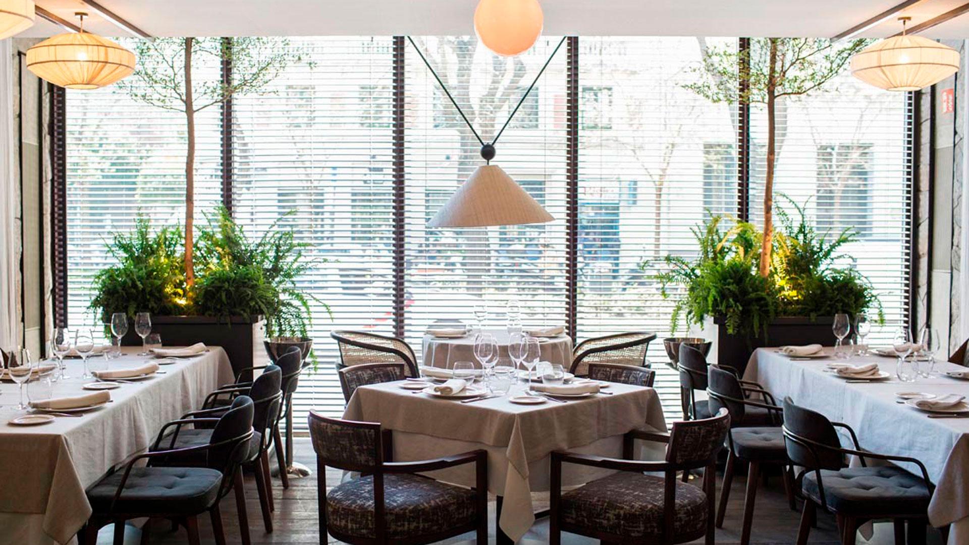 Imagen interior del restaurante Carbón Negro