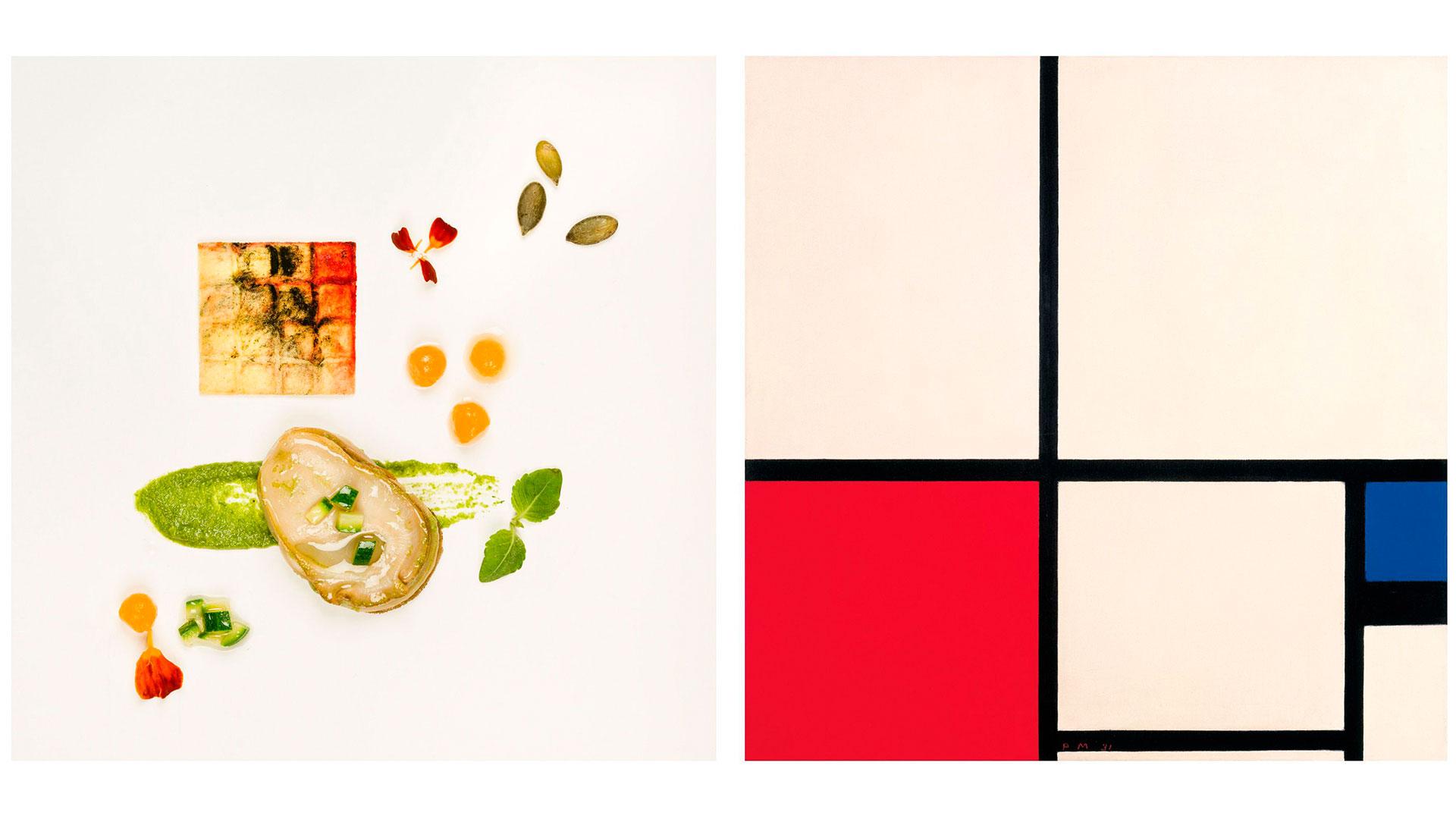 Imágenes del libro de recetas 'El Thyssen en el plato'