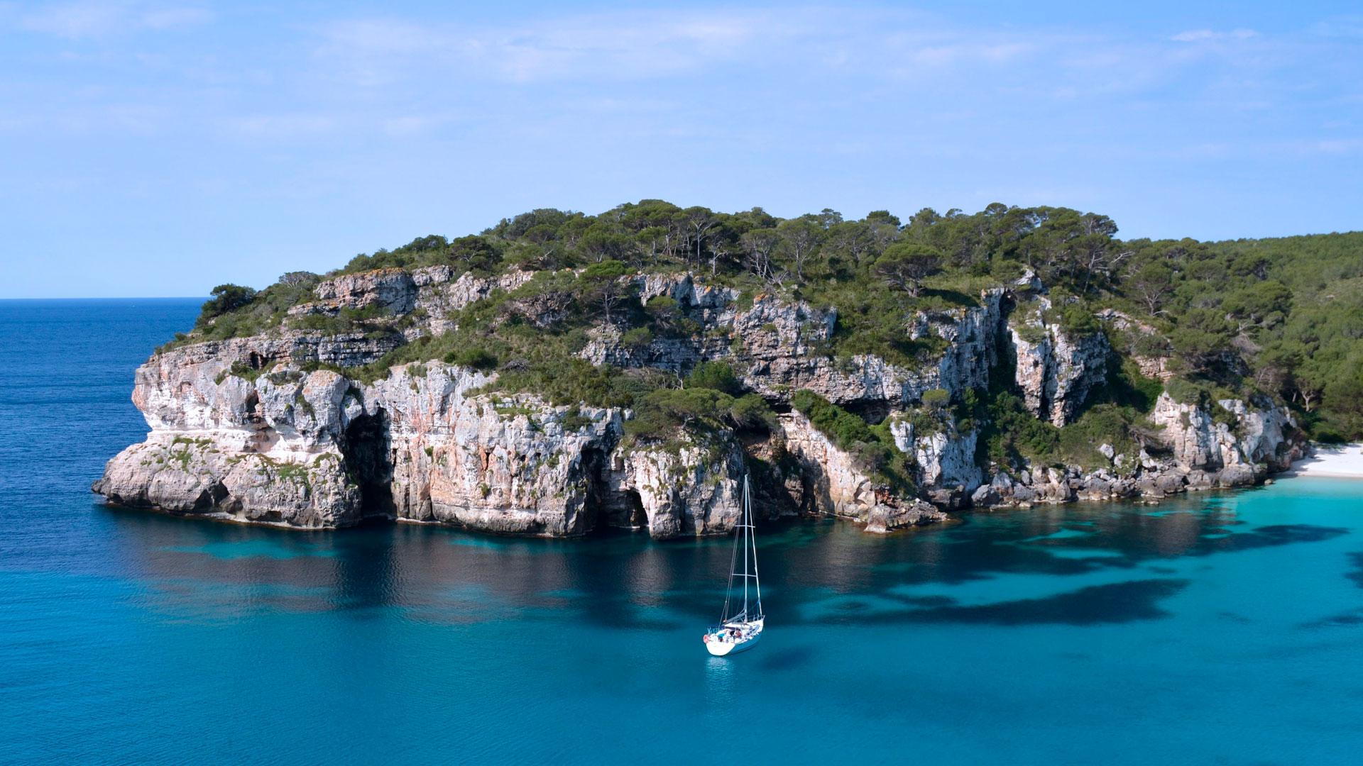 Imagen de la isla Formentera