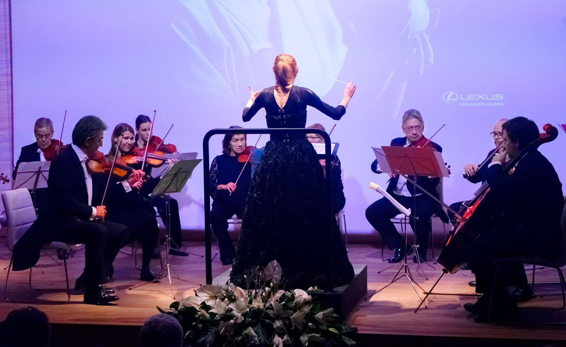 Imagen del concierto anual Inma Shara Lexus en Casa de América