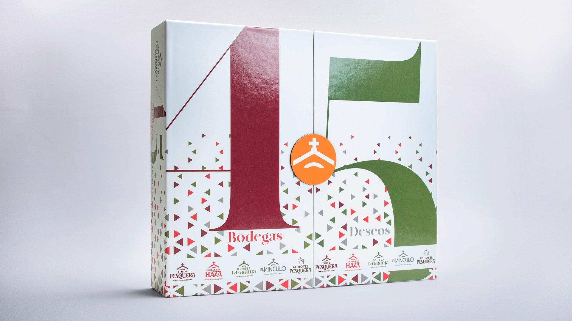 Imagen de los vinos de Navidad Fernández Rivera
