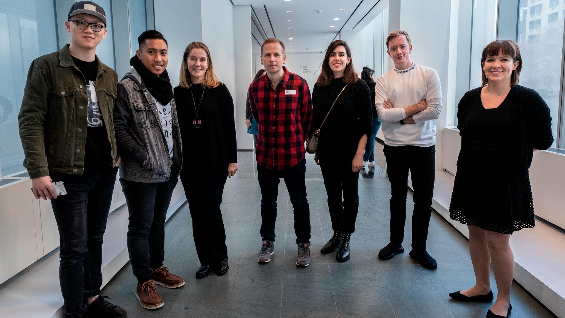 Imagen de los seis finalistas de los Lexus Design Awards 2019
