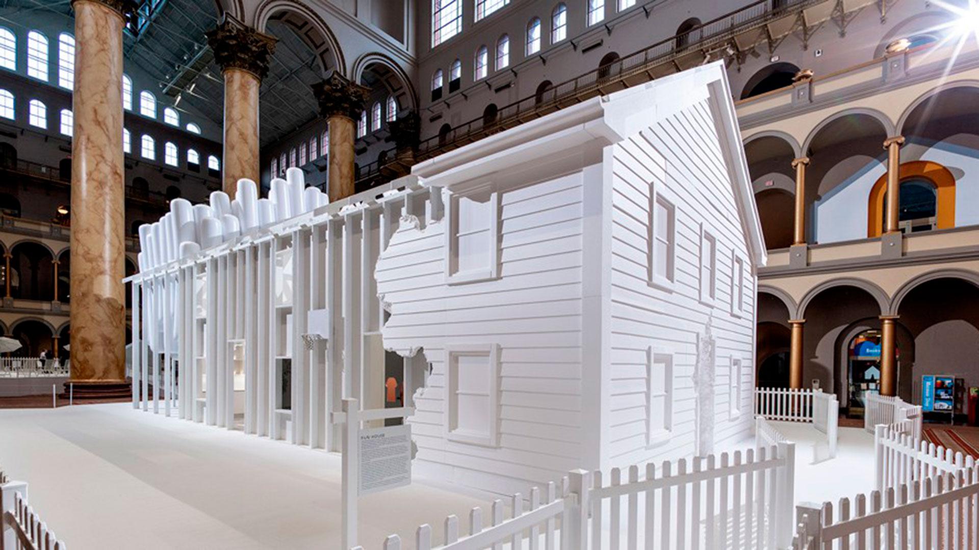 Fun House rinde homenaje a Snarkitecture en el National Building Museum