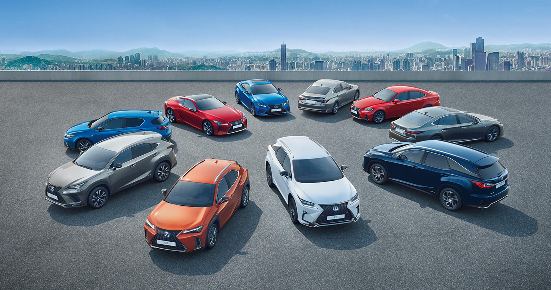 Lexus y Euro NCAP hero asset