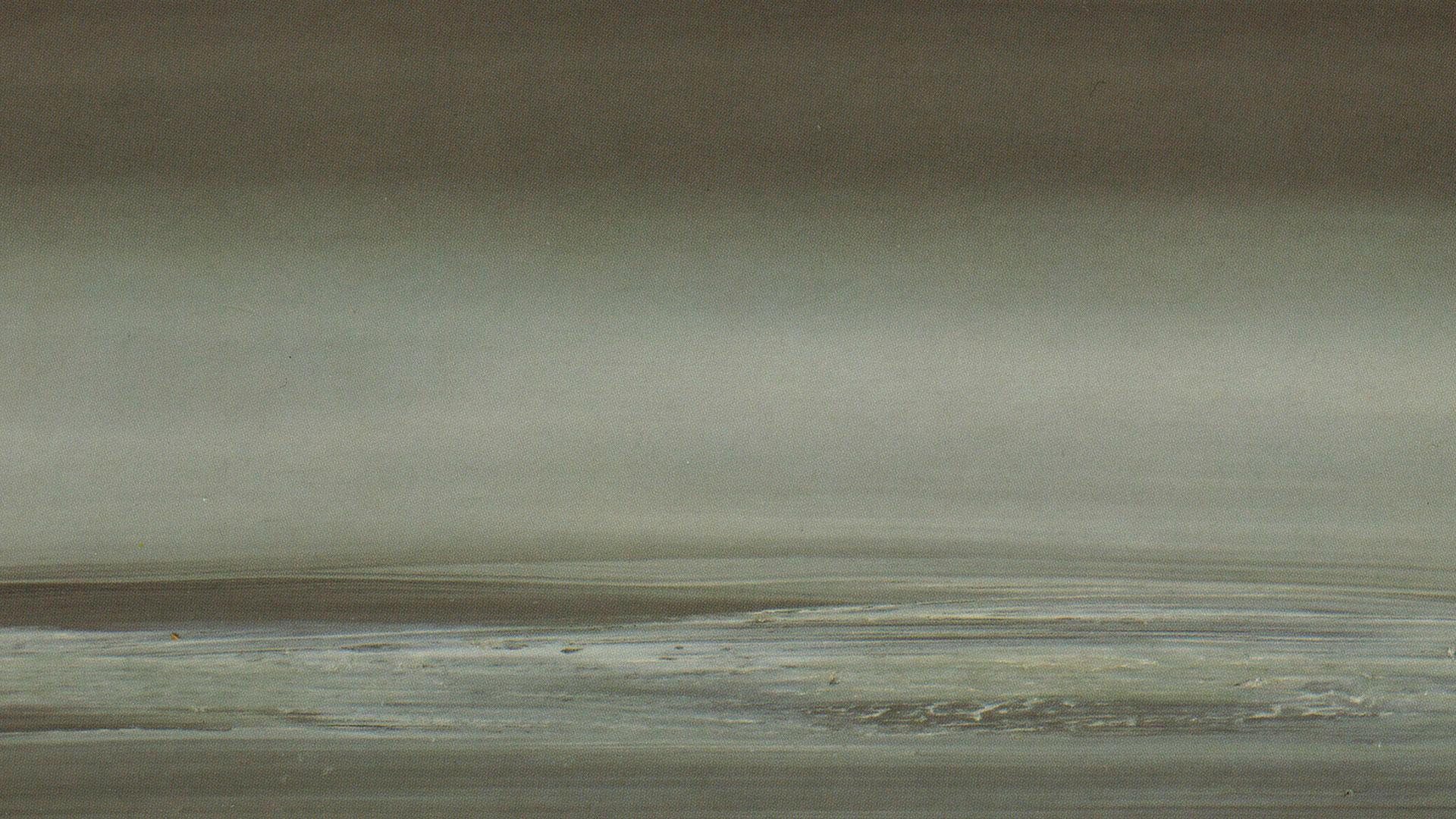 Obra de Gerhard Richter exhibida en el Guggenheim de Bilbao