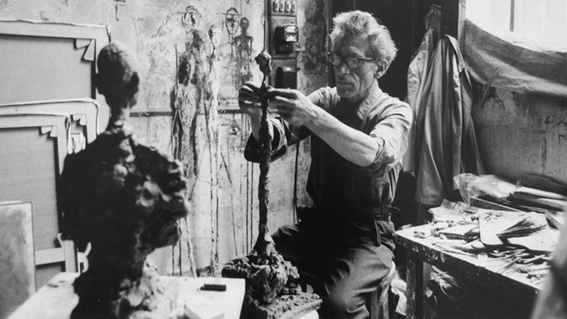 Imágenes de la obra de Alberto Giacometti