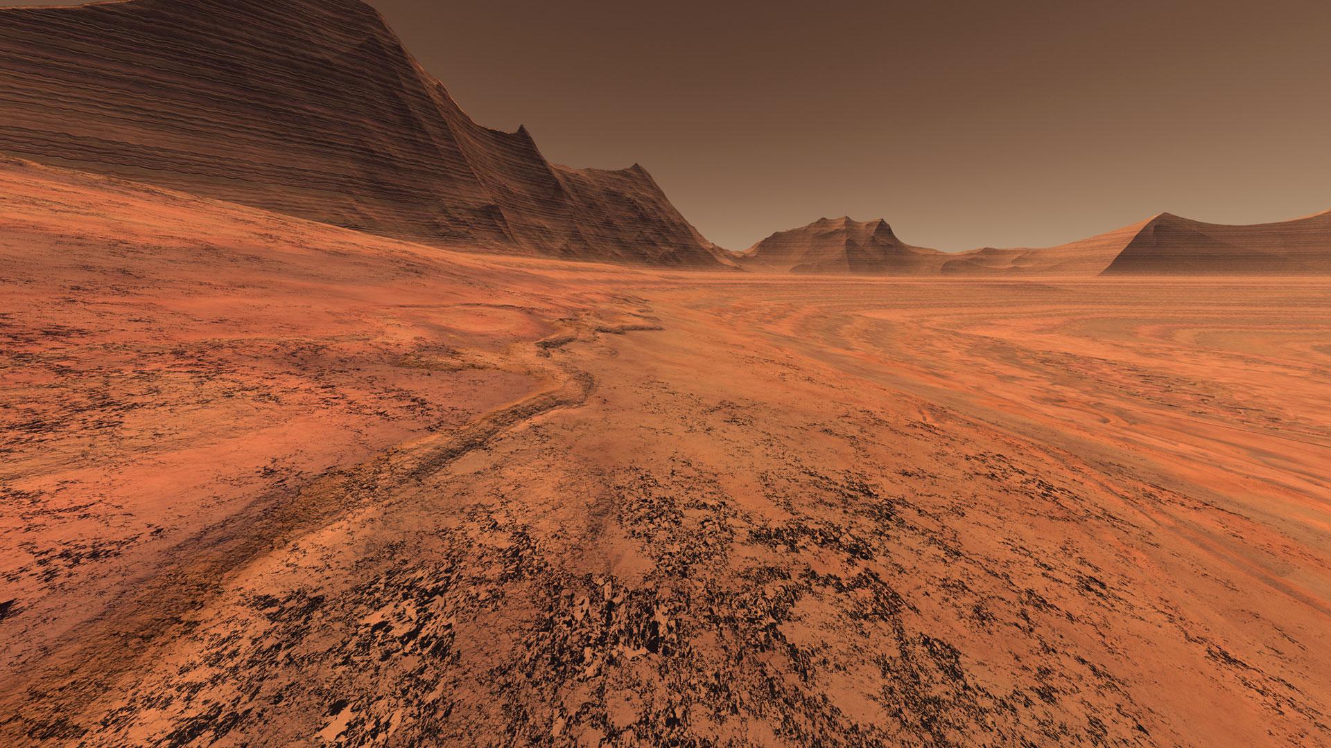 Guía turística de Marte hero asset