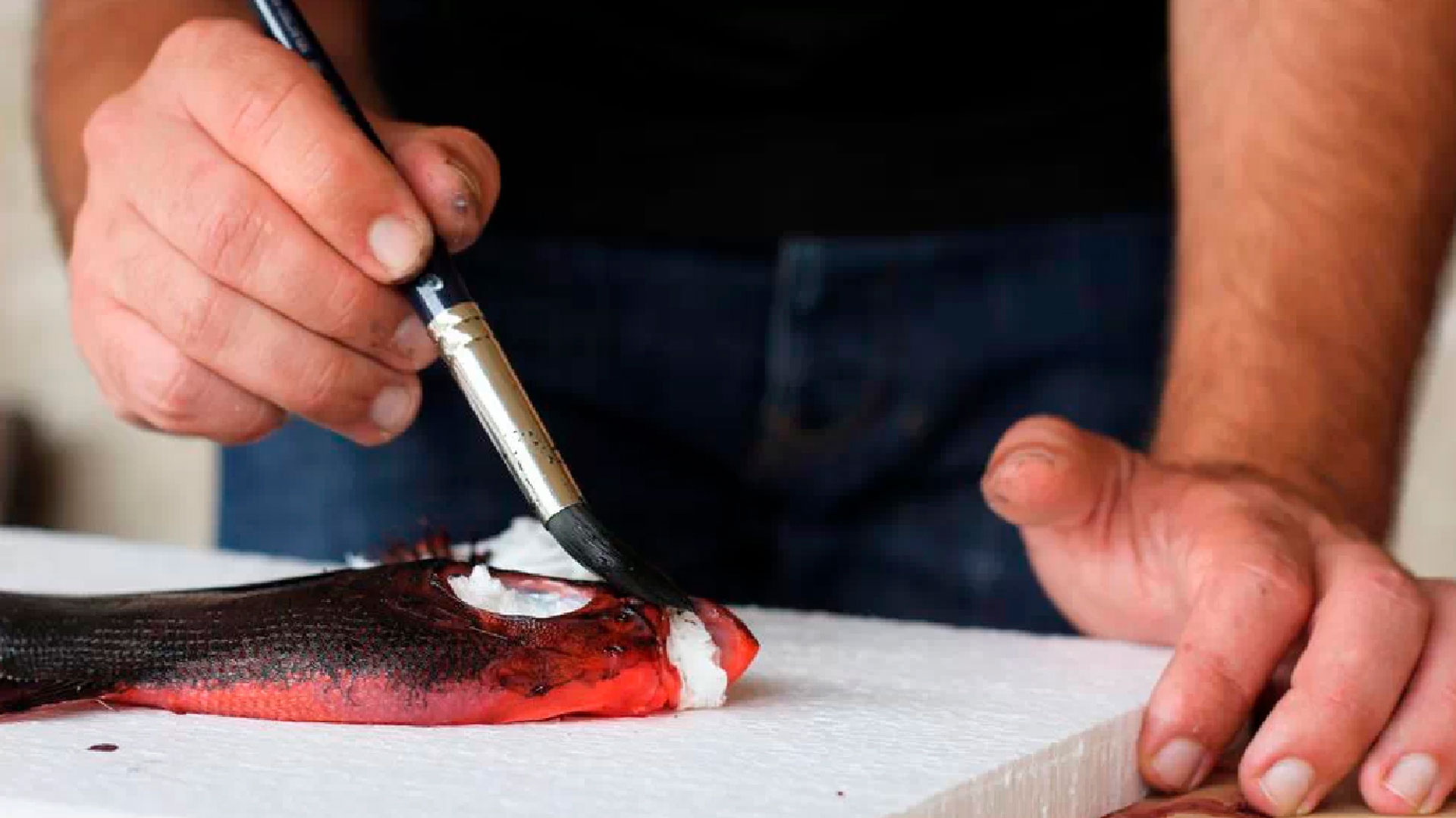 Imagen de la estampación Gyotaku