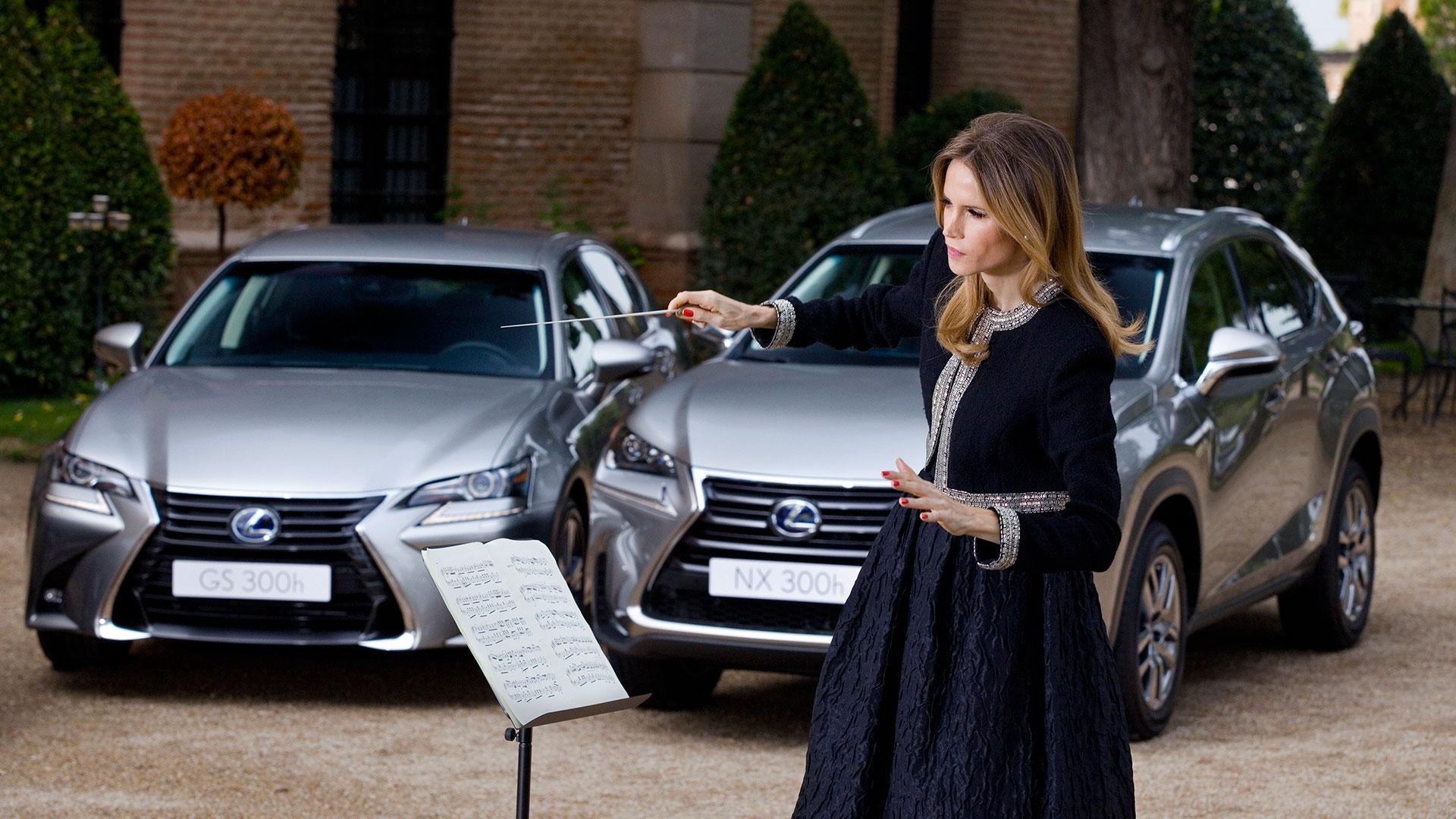 Inma Shara colabora con Lexus en la búsqueda de la excelencia de la marca en su trato con el cliente