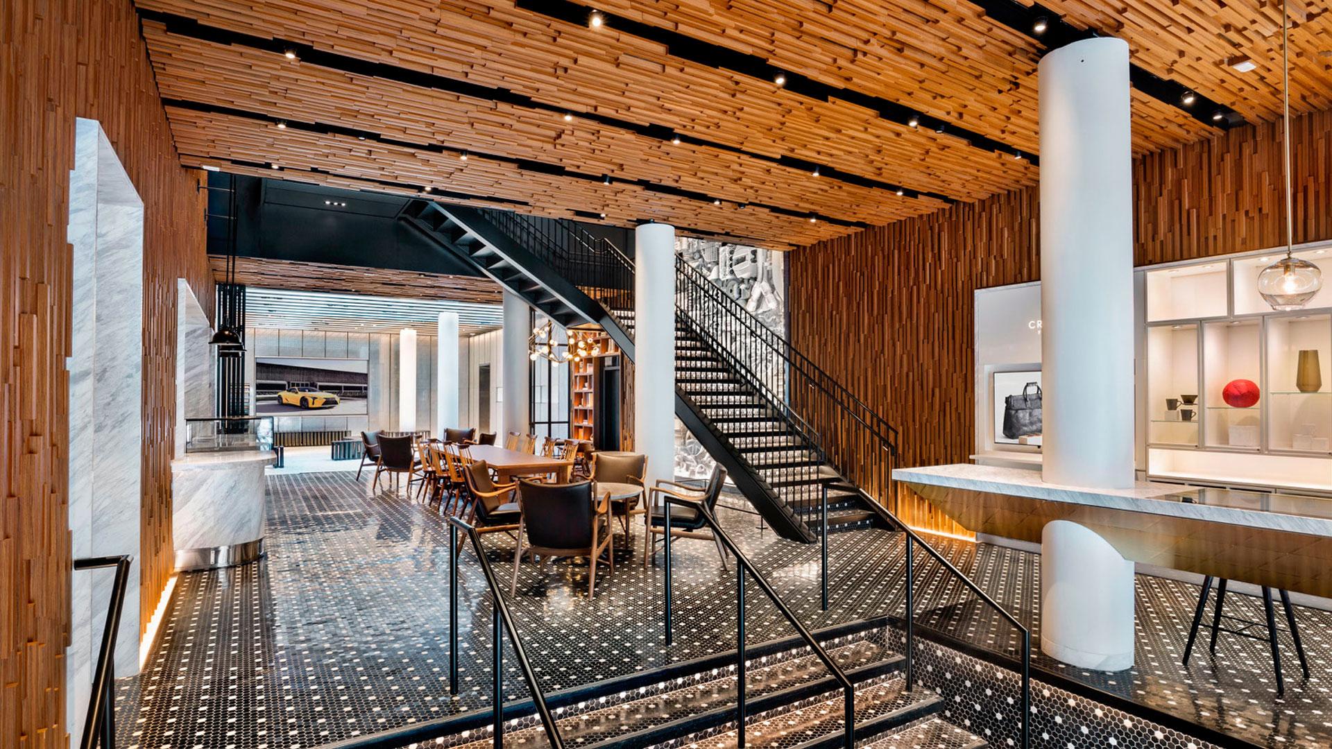Imagen del nuevo espacio Intersect by Lexus en Nueva York