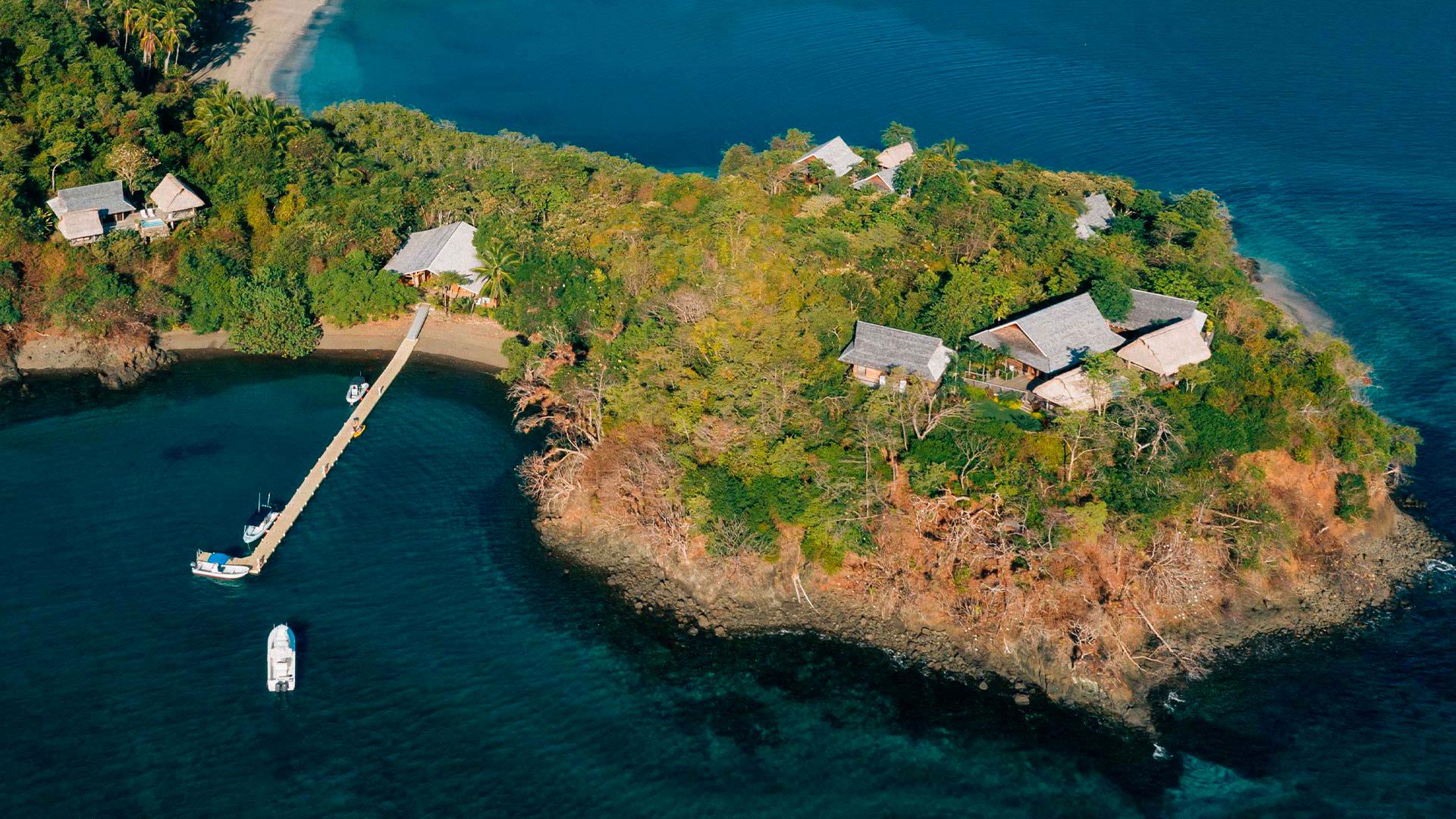 Imágenes del archipiélago de Islas Secas