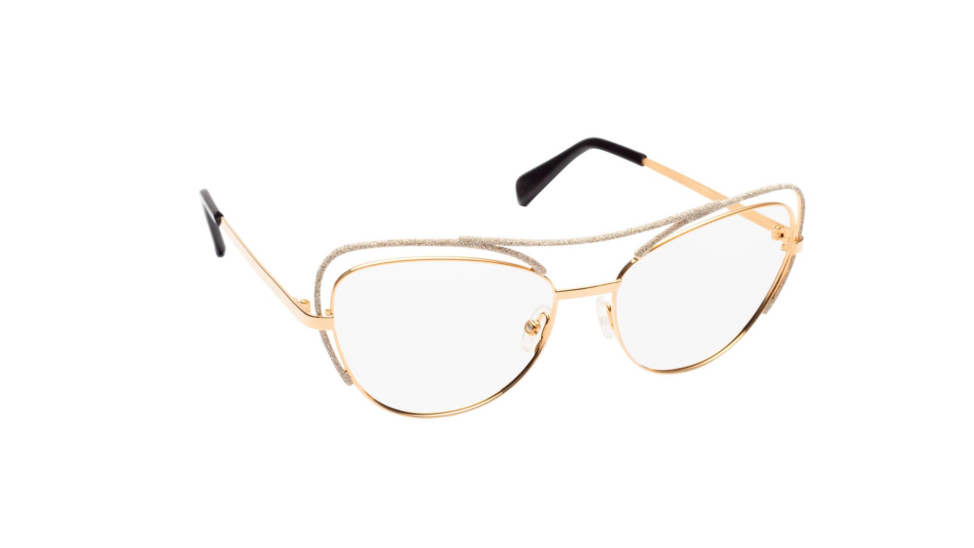 Imagen de las gafas de la diseñadora italiana Lara D'