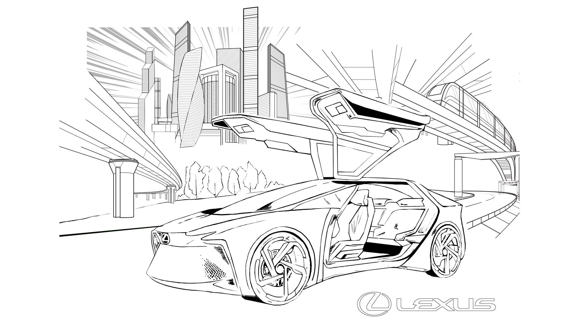Concurso Lexus Colors hero asset