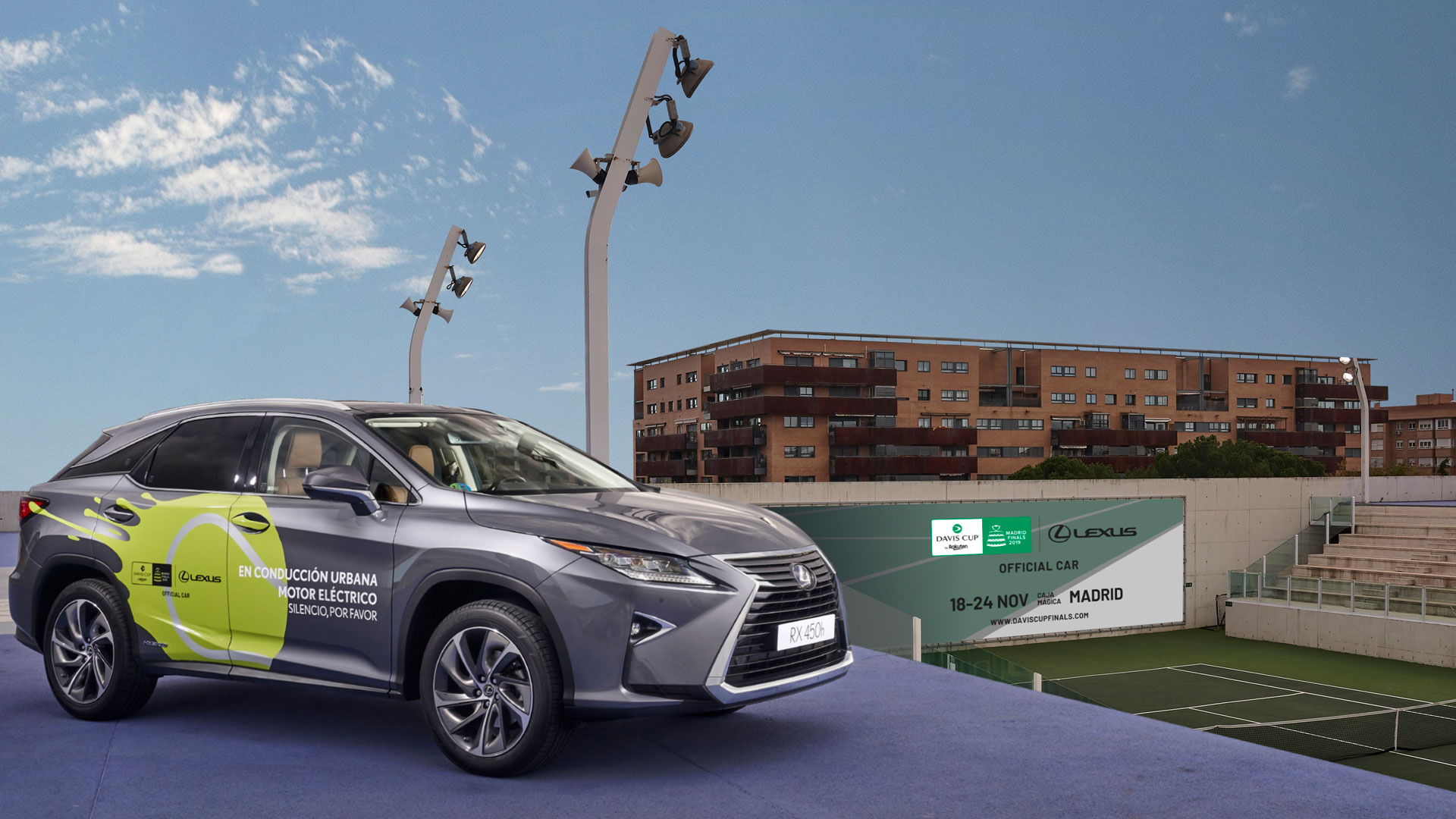 Lexus hibridiza la Copa Davis hero asset