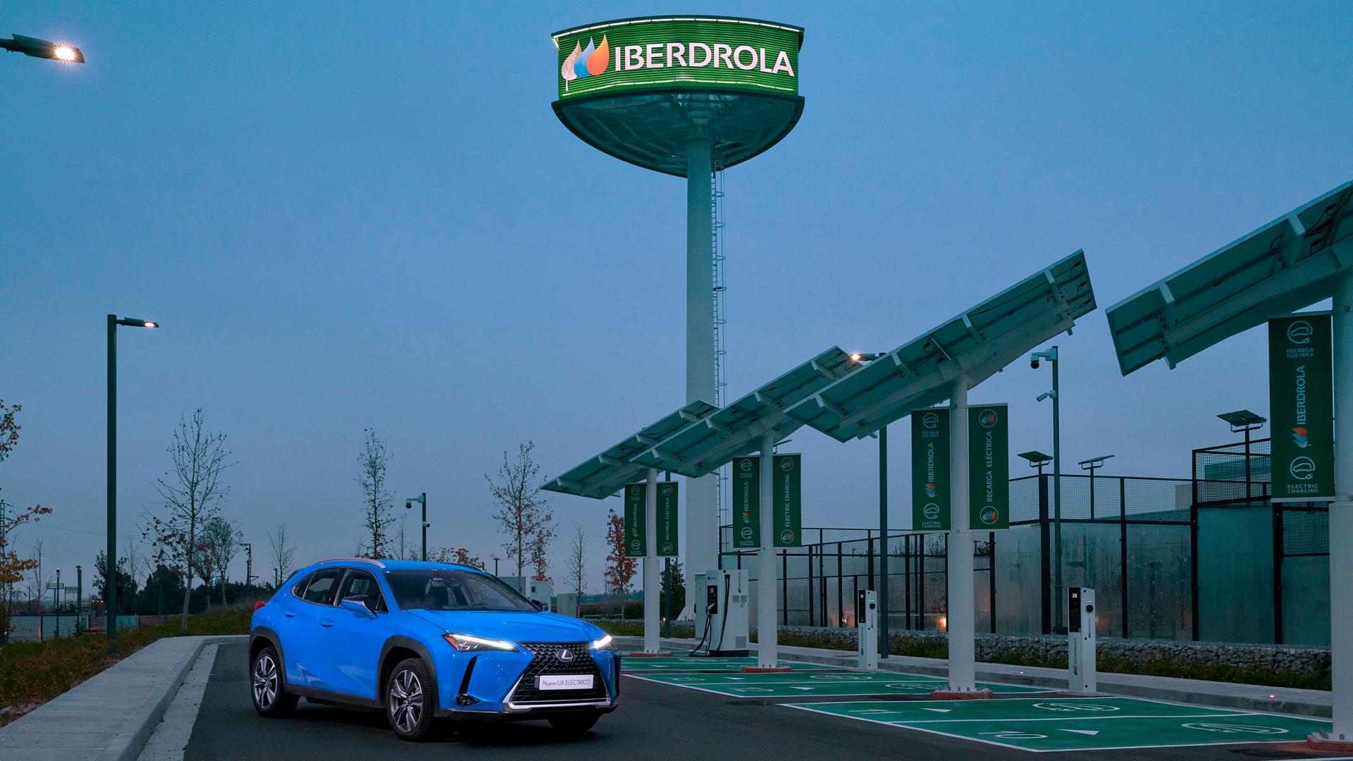 Imagen de Lexus frente a Iberdrola